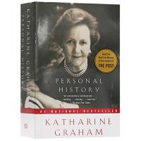 我的一生略小于美国现代史 英文原版名人传记 Personal History Katharine Graham 凯瑟琳