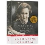 我的一生略小于美国现代史 英文原版名人传记 Personal History Katharine Graham 凯瑟琳格