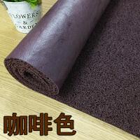 可以裁剪家用地毯丝圈脚垫子塑胶pcv防水防滑地垫迎宾垫除尘门垫
