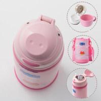 日本小猪佩奇带吸管保温杯儿童防摔两用幼儿园宝宝水杯小学生水壶
