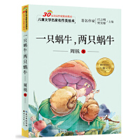 儿童文学名家名作美绘本-一只蜗牛,两只蜗牛