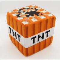 我的世界毛绒玩具Minecraft正版周边人偶摆件人仔公仔方块抱枕 20*20方块抱枕