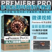 Premiere Pro CC从入门到精通PR教程 (全彩印 高清视频版)