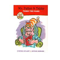 进口英文原版绘本 Mr. Putter and Tabby Turn the Page 英文学习桥梁章节书 全彩漫画绘本 幼儿教育 平装