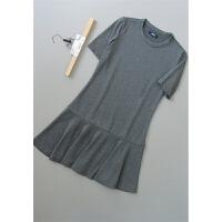 [T81-224]新款女裙子打底女装连衣裙34