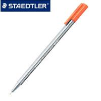 德国 STAEDTLER 施德楼 334 三角舒写 纤维笔|签字笔|中性笔 30色