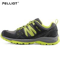【现价:197.4 往期:299】户外登山鞋男女防滑跑步运动鞋情侣透气耐磨徒步鞋子