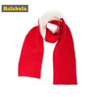 巴拉巴拉儿童围巾秋冬新品2018款韩版可爱保暖女童围脖针织时尚潮