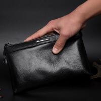 商务男包手拿包男大容量头层牛皮男士手包 软皮手抓包钱包夹包