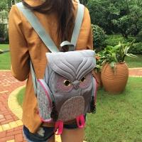 猫头鹰双肩包旅行包潮包时尚双肩包个性背包休闲背包个性双肩包