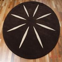 简约现代满铺电脑椅吊篮床边羊毛地毯圆形沙发茶几客厅地毯卧室