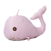 鲸鱼公仔毛绒玩具海豚布娃娃玩偶创意布艺摆件婚庆礼品可爱萌女孩
