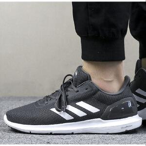 adidas阿迪达斯2018新款男子网面透气运动休闲跑步鞋B44880