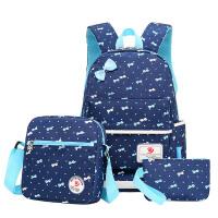小学生书包1-3年级女孩 儿童背包休闲双肩包女初中小学女童包包