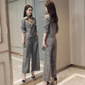 风轩衣度 套装/套裙时尚唯美潮流简约修身显瘦气质2018年春季新款 2802