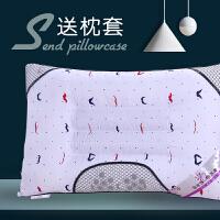 枕头枕芯一对决明子薰衣草荞麦壳学生夏季单人椎枕头 (送枕套)
