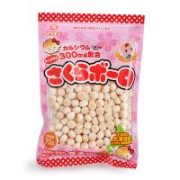 日本岩本 樱花小馒头 宝宝儿童零食婴儿食品辅食进口饼干磨牙饼干