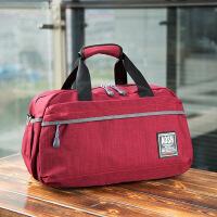 手提行李袋女单肩旅行包帆布包短途旅游包出行包健身包运动包