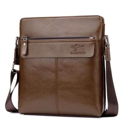 男包单肩包斜挎包男士皮包休闲包包潮流竖款背包男公文包