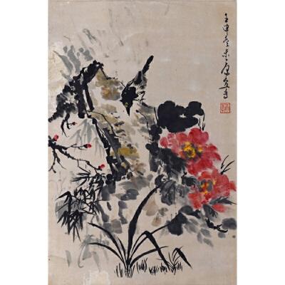 L4康宁《花卉小鸟》