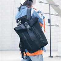 书包女韩版原宿ulzzang 高中学生潮背包街头时尚大容量电脑双肩包