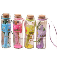 可爱迷你吊坠玻璃瓶小号木塞许愿瓶漂流瓶密封带盖小瓶子挂件项链