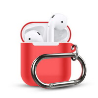 【包邮】苹果AirPods硅胶保护套 苹果无线蓝牙耳机盒防滑壳防丢绳充电收纳配件耳机防丢绳