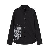 【1件3折到手价:55.77】美特斯邦威长袖衬衫男装秋季新款HYSTYL府绸衬衣