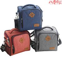上班�э�的�盒袋子�b�盒的手提包大�大容量�袋便��包防水日式