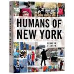 人在纽约 英文原版 Humans of New York 纽约人 纽约时尚 摄影图册 街拍 英文版艺术类书籍 进口英语