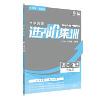理想树2020新版初中英语进阶集训 九年级词汇语法 英语专项训练