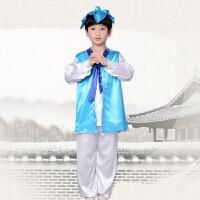 六一儿童节男童汉服 幼儿园古装少儿民族风三字经国学演出服装