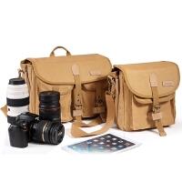 背包客F系单反相机包800D 5D3 80D6dD D7200休闲帆布单肩摄影