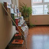 儿童书架 铁艺绘本架幼儿书报架6层宝宝书柜简易展示落地书架收纳