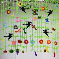 幼儿园教室走廊吊饰挂饰夏天燕子藤叶柳条蝴蝶创意装饰品材料空中