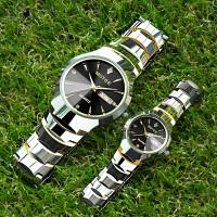 防水钨钢手表男机械表全自动日历情侣手表一对价潮流