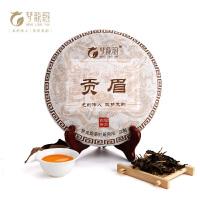 【宁德馆】梦龙韵福鼎白茶 贡眉茶饼 福建老白茶叶350g