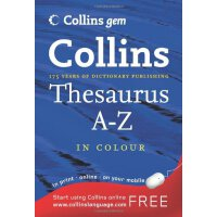 英文原版 GEM THESAURUS A-Z 6TH EDN