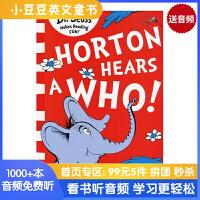 #英文原版 Horton Hears a Who 霍顿奇遇记 [4-8岁]