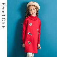 【3件价:51.9元】铅笔俱乐部童装2020春装新款女童连衣裙中大童背心裙子儿童连衣裙