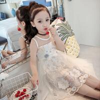 女童连衣裙夏装洋气童装韩版纱裙儿童裙子夏公主裙蓬蓬纱
