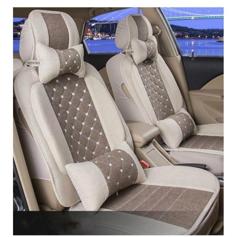 新款汽车坐垫四季通用座垫全包轿车座椅垫座套车垫汽车用品