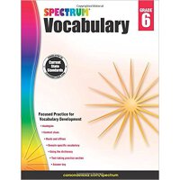 Spectrum Vocabulary, Grade 6 英文原版 Spectrum 词汇,6年级