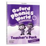 新版 牛津自然拼读教材教师书4 英文原版 Oxford Phonics World Level 4 Teacher's