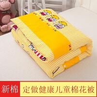 定做花幼儿园床垫婴儿褥子儿童棉花床褥子垫被子盖被宝宝垫子
