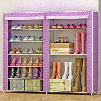 思故轩简易鞋柜鞋架 组装多层经济型收纳防尘鞋架子现代简约0603C