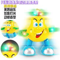 创意儿童玩具 发光音乐电动走路摇摆卡通水果跳舞机器人
