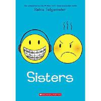 Sisters 英文原版漫画 姐妹:Smile续集 Raina Telgemeier