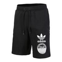 Adidas阿迪达斯 男子三叶草运动休闲透气短裤 BP8939