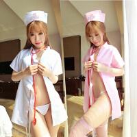 护士服情趣内衣服制服sm角色扮演大码小胸紧身护士性感激情套装女